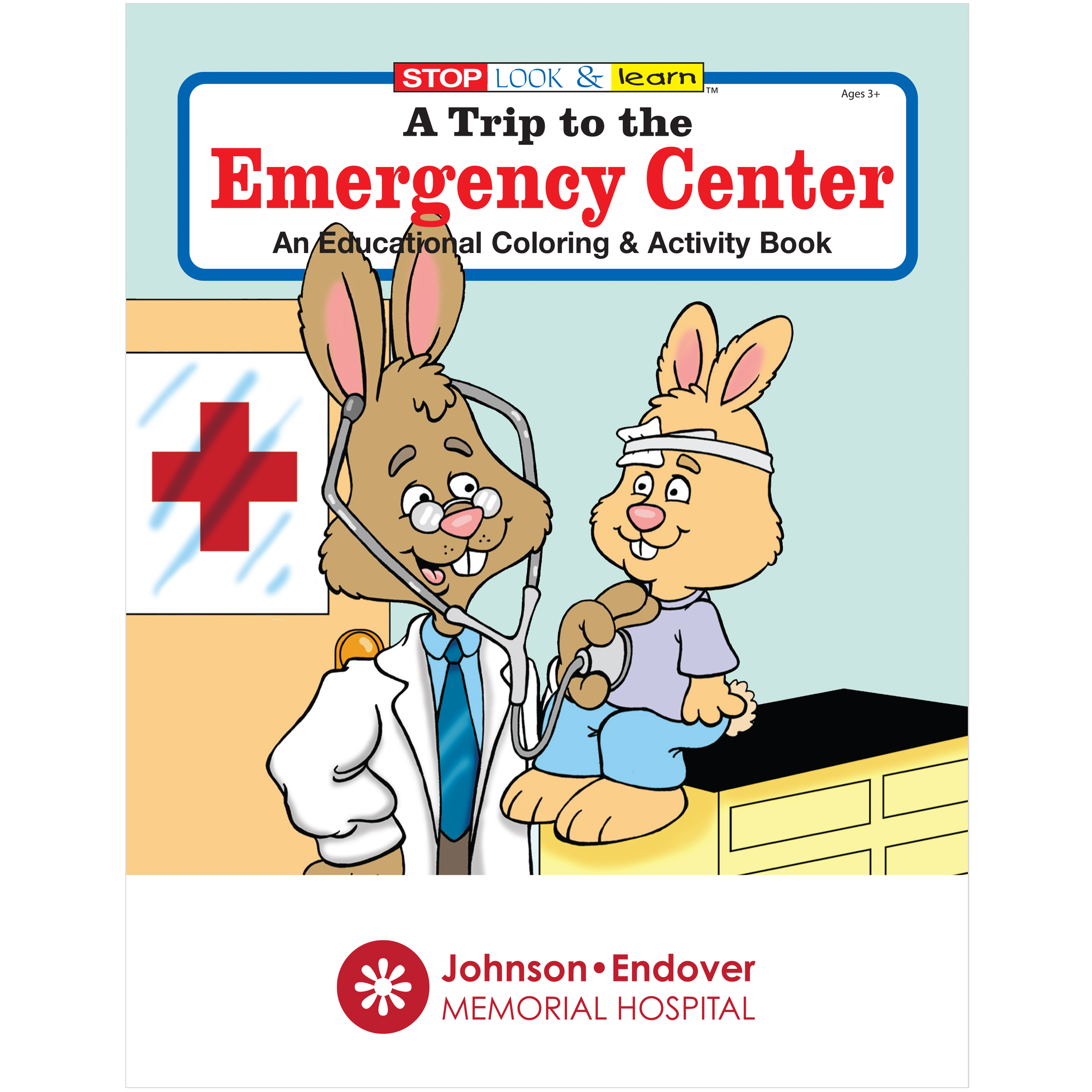 Trip to the Emergency Center Coloring & Activity Book