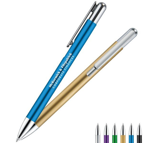 Denton Metal Retractable Ballpoint Pen
