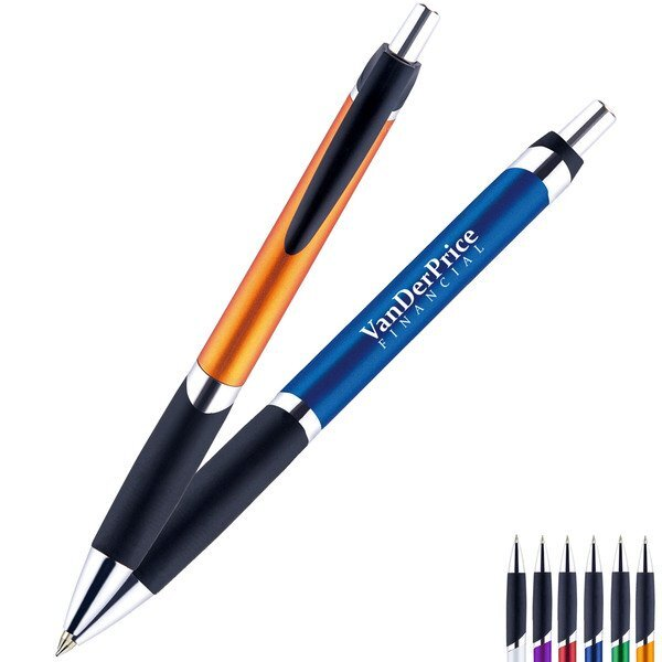Osage Metallic Retractable Ballpoint Pen