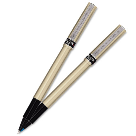 Uni-Ball® Deluxe Fine Point Rollerball Pen