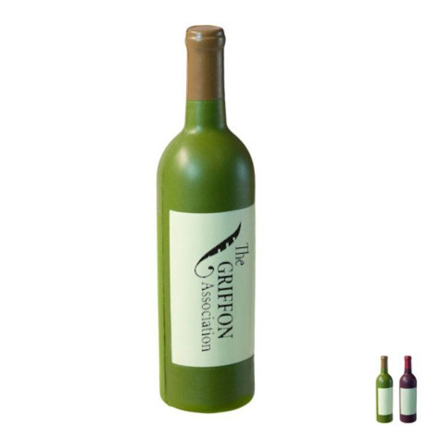 Red or White Wine Bottle Stress Reliever