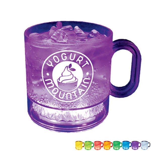 Light Up LED Plastic Mug, 12oz.
