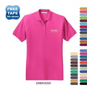 Port Authority® Silk Touch™ Pique Ladies' Polo