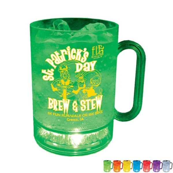Light Up LED Mug, 16oz.