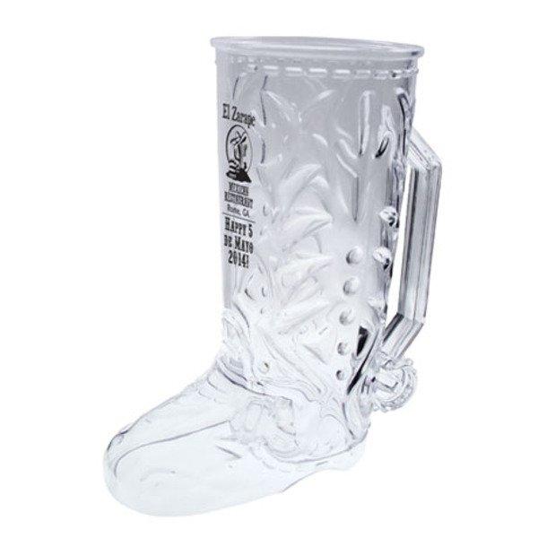 Plastic Cowboy Boot Mug, 20oz.