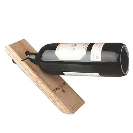 Single Bottle Wood Wine Stand
