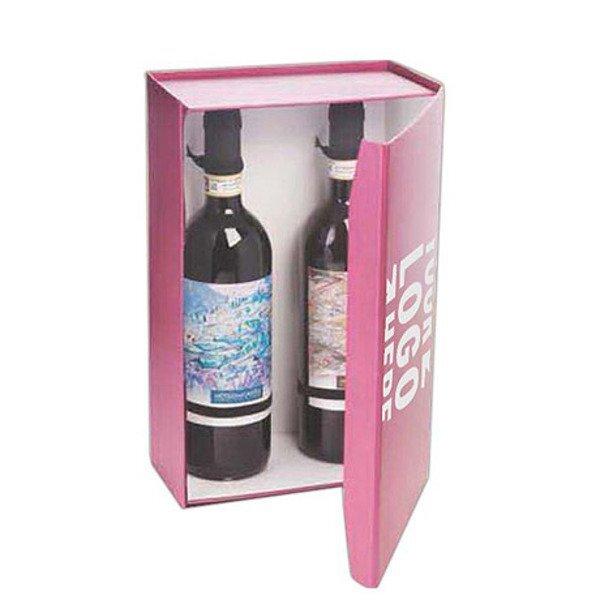Regency Pop-Up Two Wine Bottle Gift Box