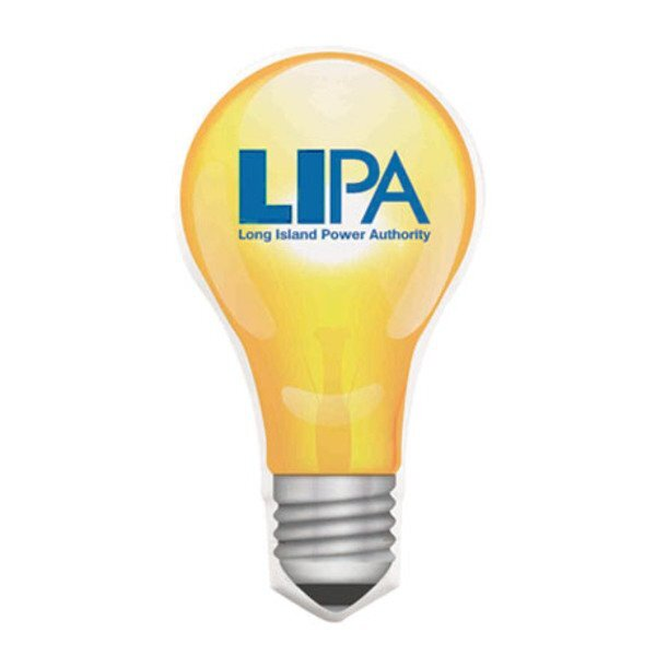 Light Bulb Mint Card