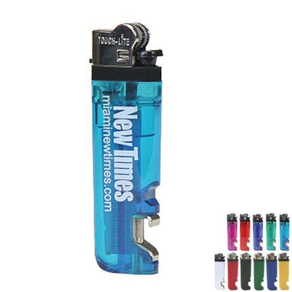 Standard Lighter with Bottle Opener