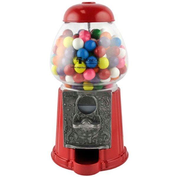 "Petite Gumball Machine with Gum, 9"""