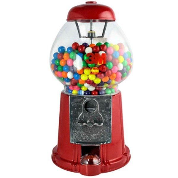 "King Gumball Machine with Gum, 15"""
