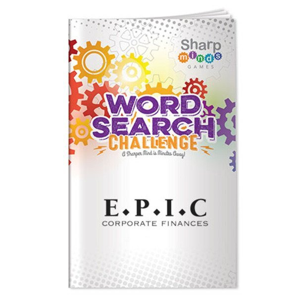 Sharp Minds Word Search Challenge Book