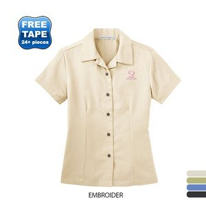 Port Authority® Easy Care Camp Ladies' Short Sleeve Shirt