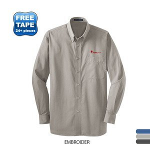 Port Authority® Tonal Pattern Easy Care Men's Shirt