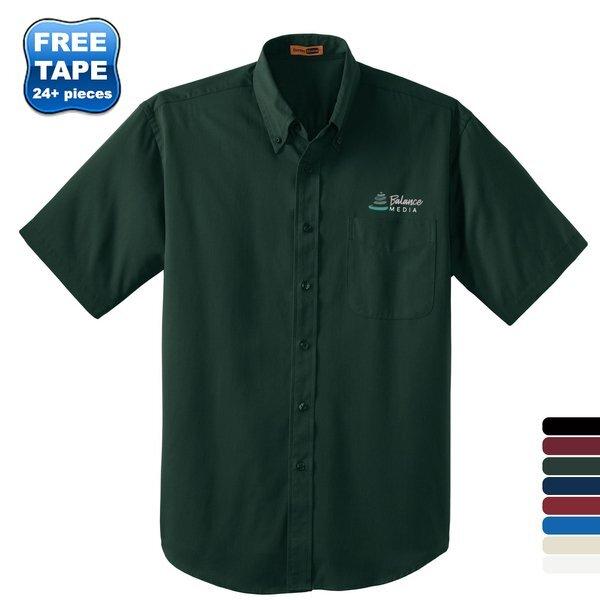 CornerStone® SuperPro™ Twill Men's Short Sleeve Shirt