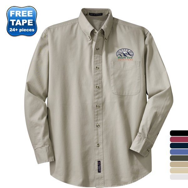 Port Authority® Cotton Twill Men's Shirt