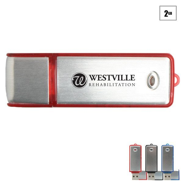 Broadview USB Flash Drive, 2GB