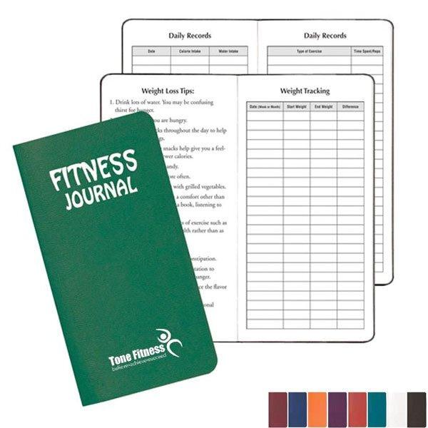 "Fitness Journal, 3-1/2"" x 6-1/2"""