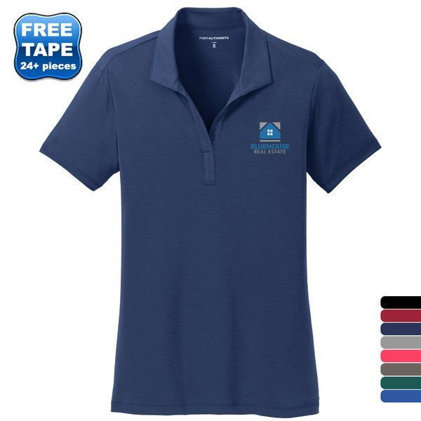 Port Authority® Cotton Touch Ladies' Performance Polo