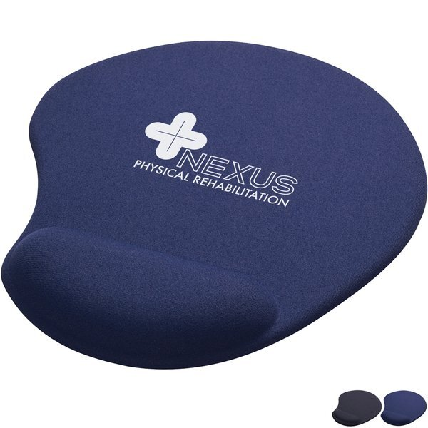 Solid Jersey Gel Mouse Pad