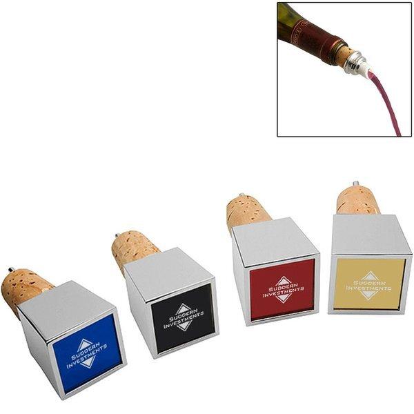 Cubo Wine Stopper & Pourer - Colors