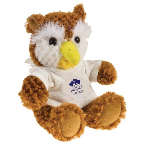 "Owl Beasty Baby Plush, 6"""