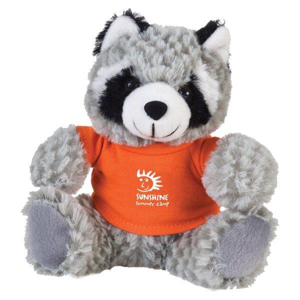 "Raccoon Beasty Baby Plush, 6"""
