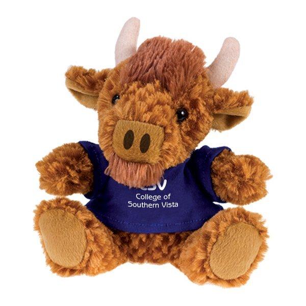 "Buffalo Beasty Baby Plush, 6"""