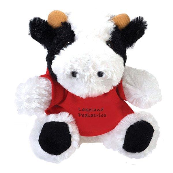 "Cow Beasty Baby Plush, 6"""