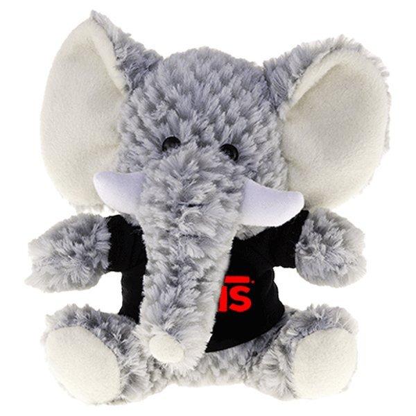 """Elephant Beasty Baby Plush, 6"""""""