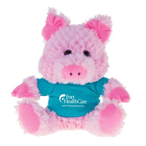 """Pig Beasty Baby Plush, 6"""""""