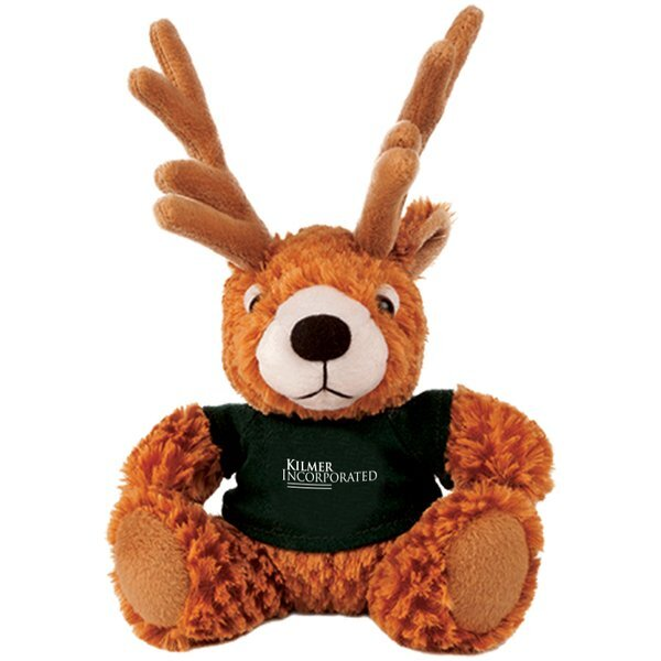 "Deer Beasty Baby Plush, 6"""