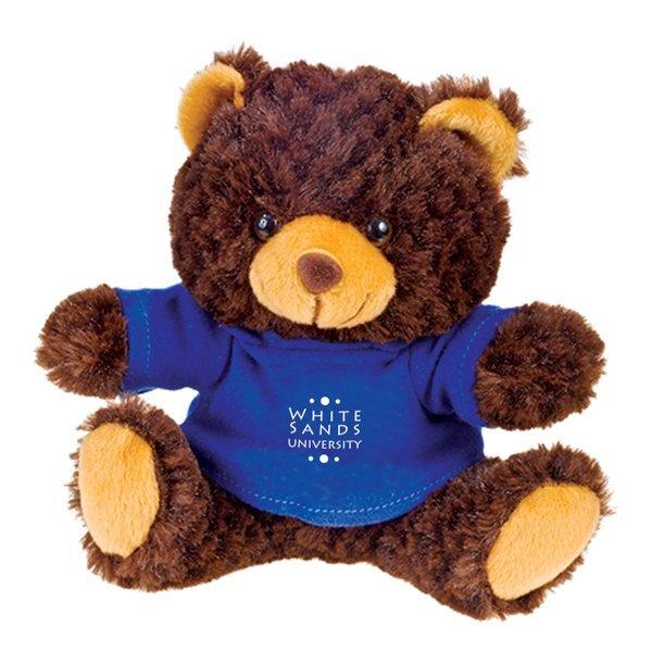 "Brown Bear Beasty Baby Plush, 6"""