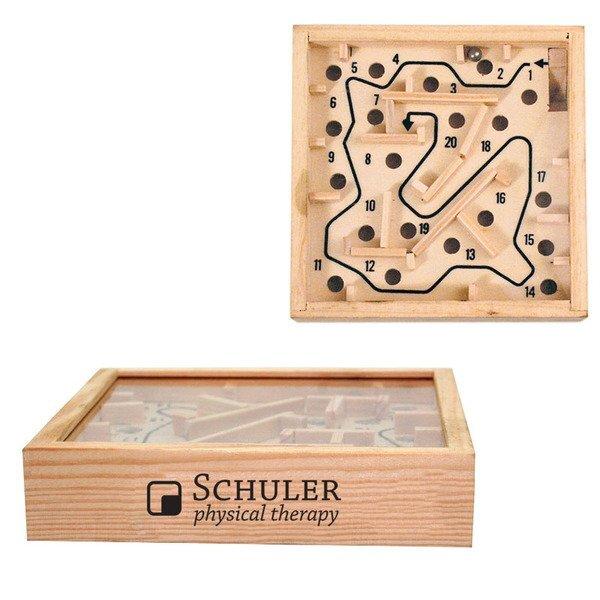 Wooden Puzzle Maze