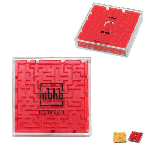 Two-Sided Maze Puzzle