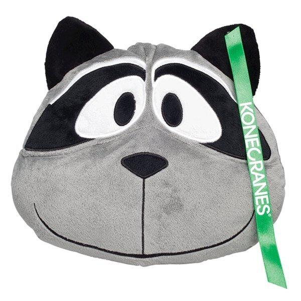 Raccoon Zoo Plush Pillow