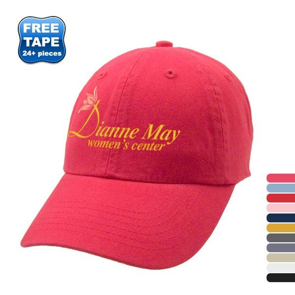 Deluxe Cotton Washed Brushed Unconstructed Cap