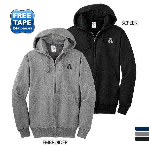JERZEES® SUPER SWEATS® Full Zip Hoodie