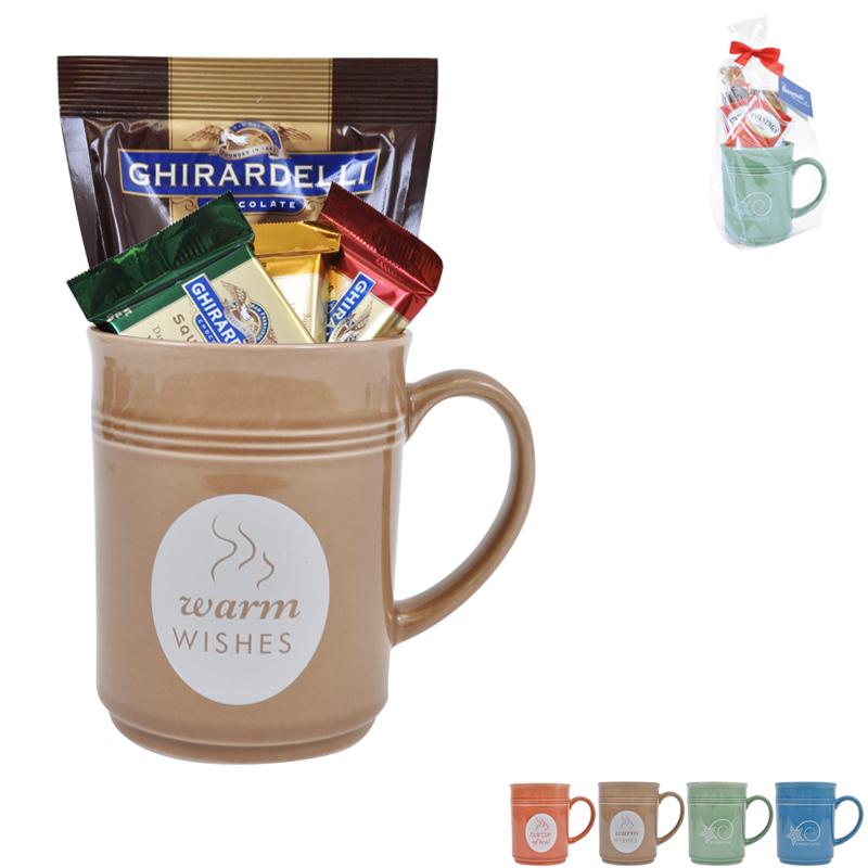 Cup of Thanks Ghirardelli 14oz. Mug Gift Set, Stock