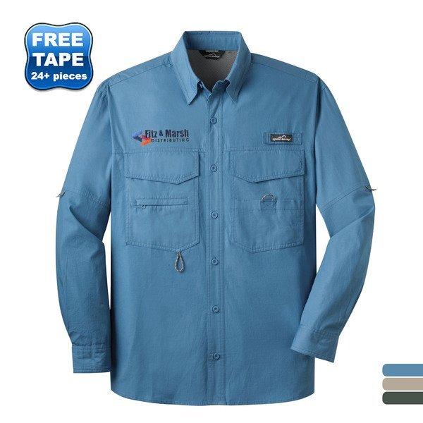 Eddie Bauer® Long Sleeve Men's Fishing Shirt