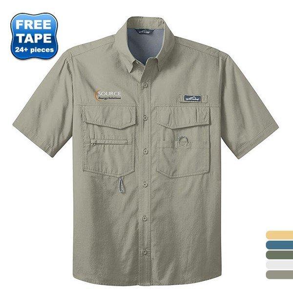 Eddie Bauer® Short Sleeve Men's Fishing Shirt