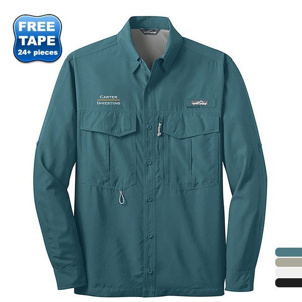 Eddie Bauer® Performance Long Sleeve Men's Fishing Shirt