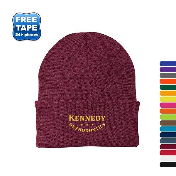Port & Company® Acrylic Knit Cap, Solid Colors