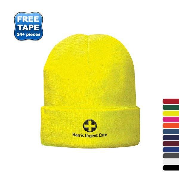 Port & Company® Fleece Lined Knit Cap