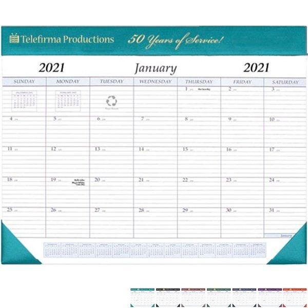 "Desk Pad Calendar, 17"" x 22"""