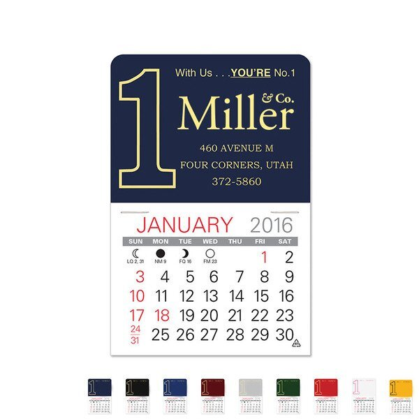 Number One Value Stick™ Calendar