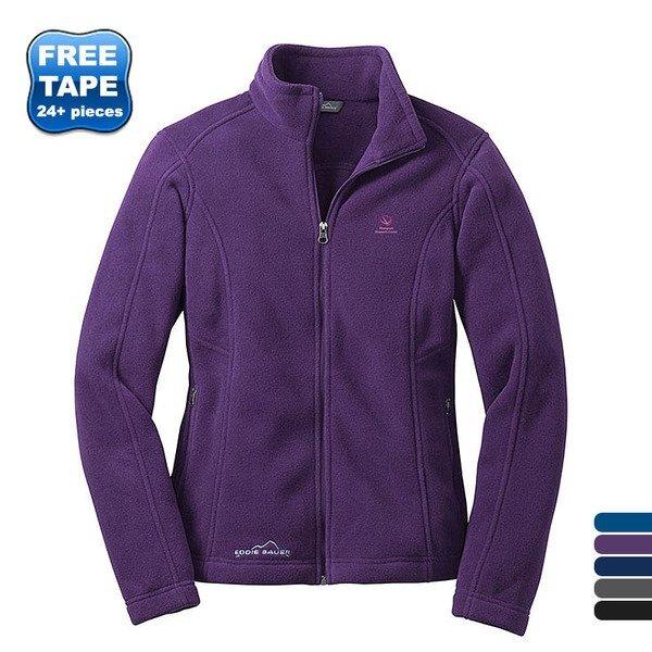 Eddie Bauer® Full Zip Ladies' Fleece Jacket