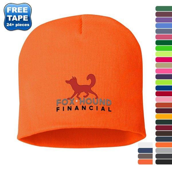Sportsman® Short Solid Acrylic Knit Beanie