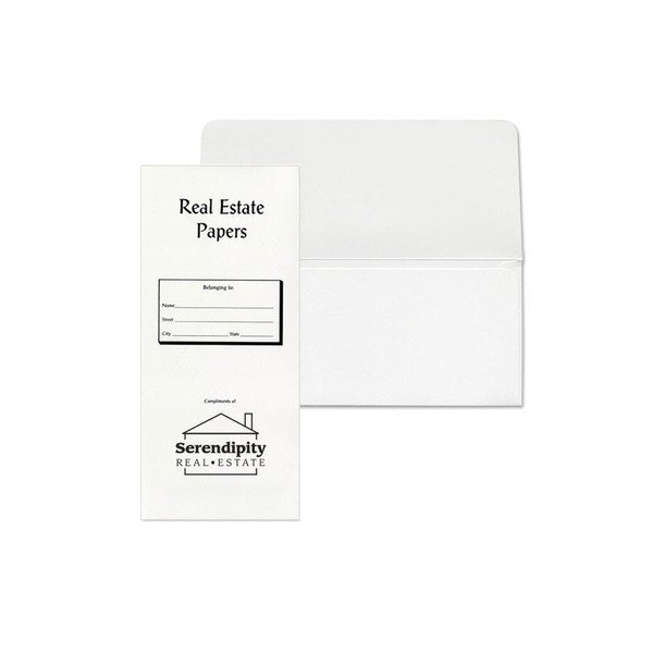 Real Estate Papers Documents Pouch