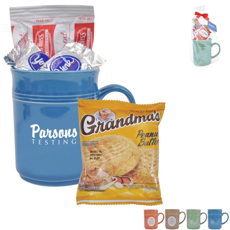 Cup of Thanks Hot Cocoa 14oz. Mug Gift Set, Custom